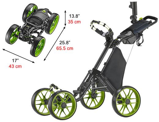 CaddyCruiser ONE V3 Lime