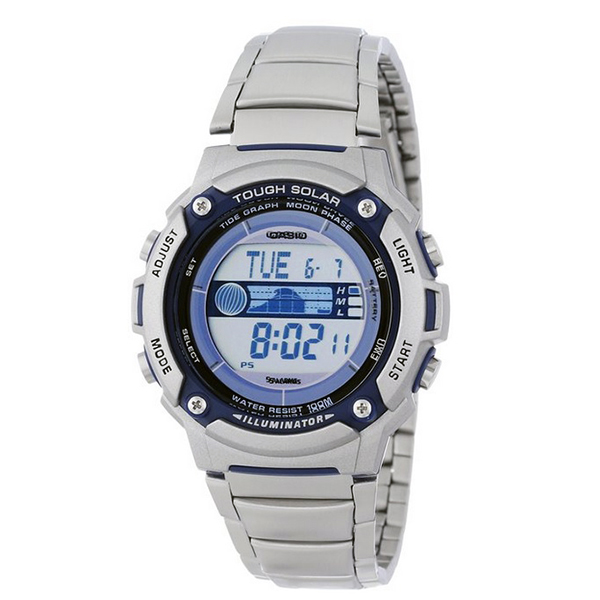 Casio-WS210HD-1AVCF-Mens-Tough-Solar-Powered-Tide-and-Moon-Stainless-Steel