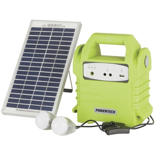 Solar Power Pack With LED Lights