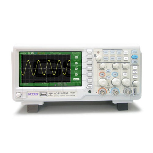 Atten-ADS1102CML-100Mhz-Digital-Oscilloscope-Scope-7-LCD-DSO-Memory-upto-2Mpts
