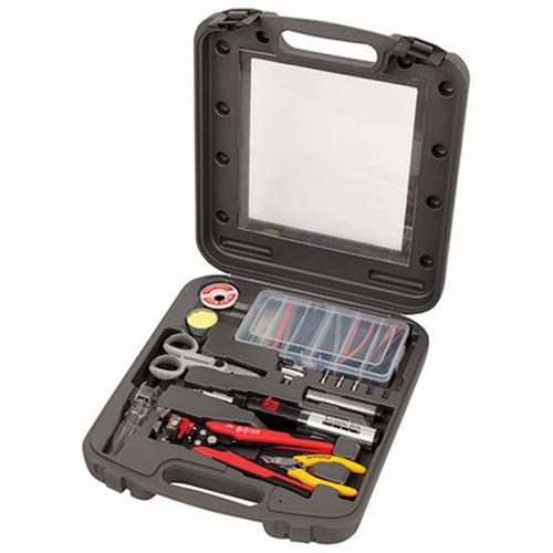 Pro-Soldering-Gas-Kit-with-Wire-Strippers-Cutters-Heatshrink